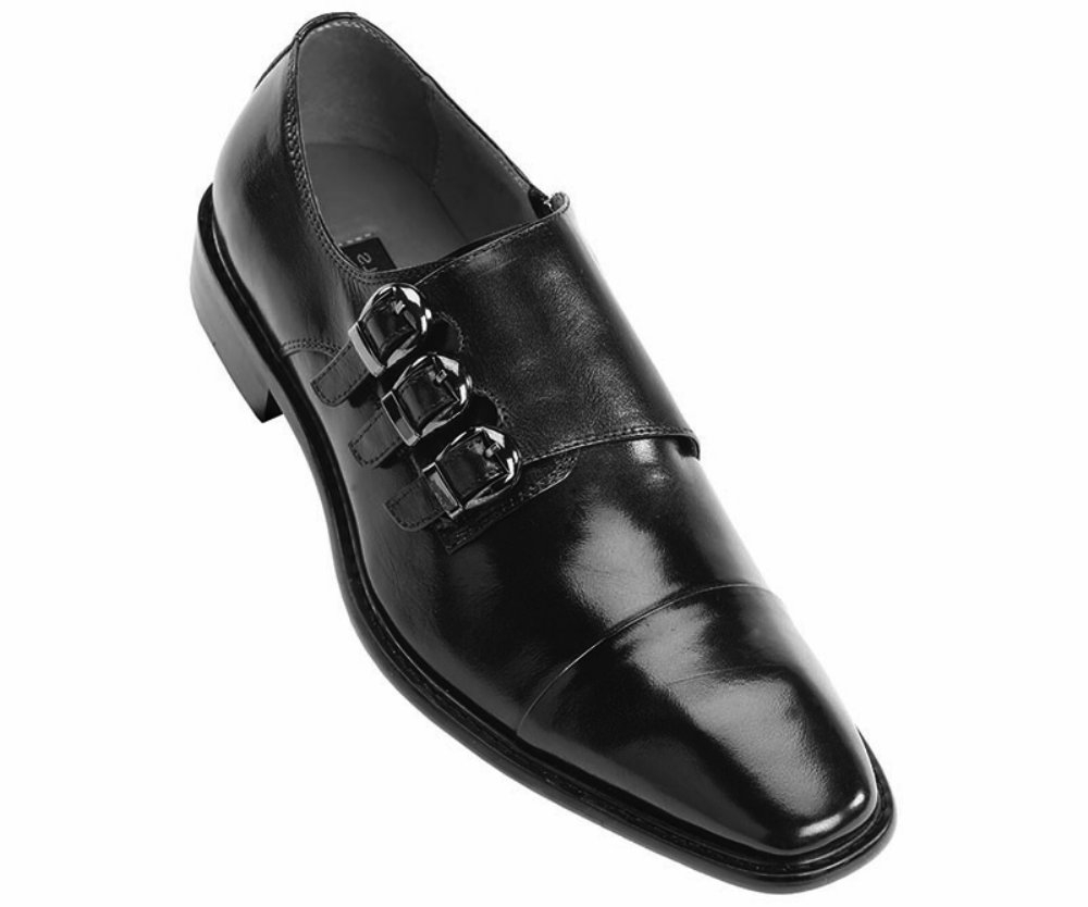 Steven Land Dress Shoe-SL308_Black