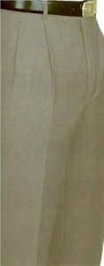 Giorgio Cosani 100% Wool Dress Slacks With French Cuffs