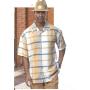 Montique Men's Two Piece Short Sleeve Walking Suit 512